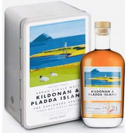 Original Distillery Bottling Arran  explorer series volume 3 Kildonan &  Pladda Island  50.4%
