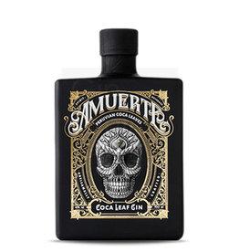 Original Distillery Bottling AMUERTE COLA LEAF GIN BLACK EDITION 43%