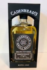 Cadenhead BENRIACH -GLENLIVET 10Y 2008-2018 57.6% CADENHEAD