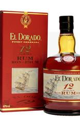 Original Distillery Bottling EL DORADO RON 12Y 40%