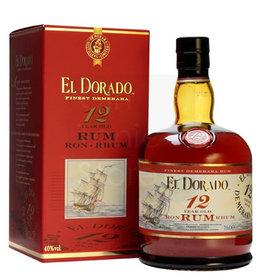 Original Distillery Bottling EL DORADO RUM  12 Y 40%