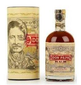 Original Distillery Bottling DON PAPA RUM 7Y  SMALL BATCH 40%