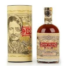 Original Distillery Bottling DON PAPA RON 7Y SMALL BATCH 40%