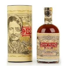 Original Distillery Bottling DON PAPA RUM 7Y  SMALL BATCH 40%