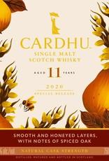 Original Distillery Bottling Cardhu 11Y 56% Diageo special release ED2020