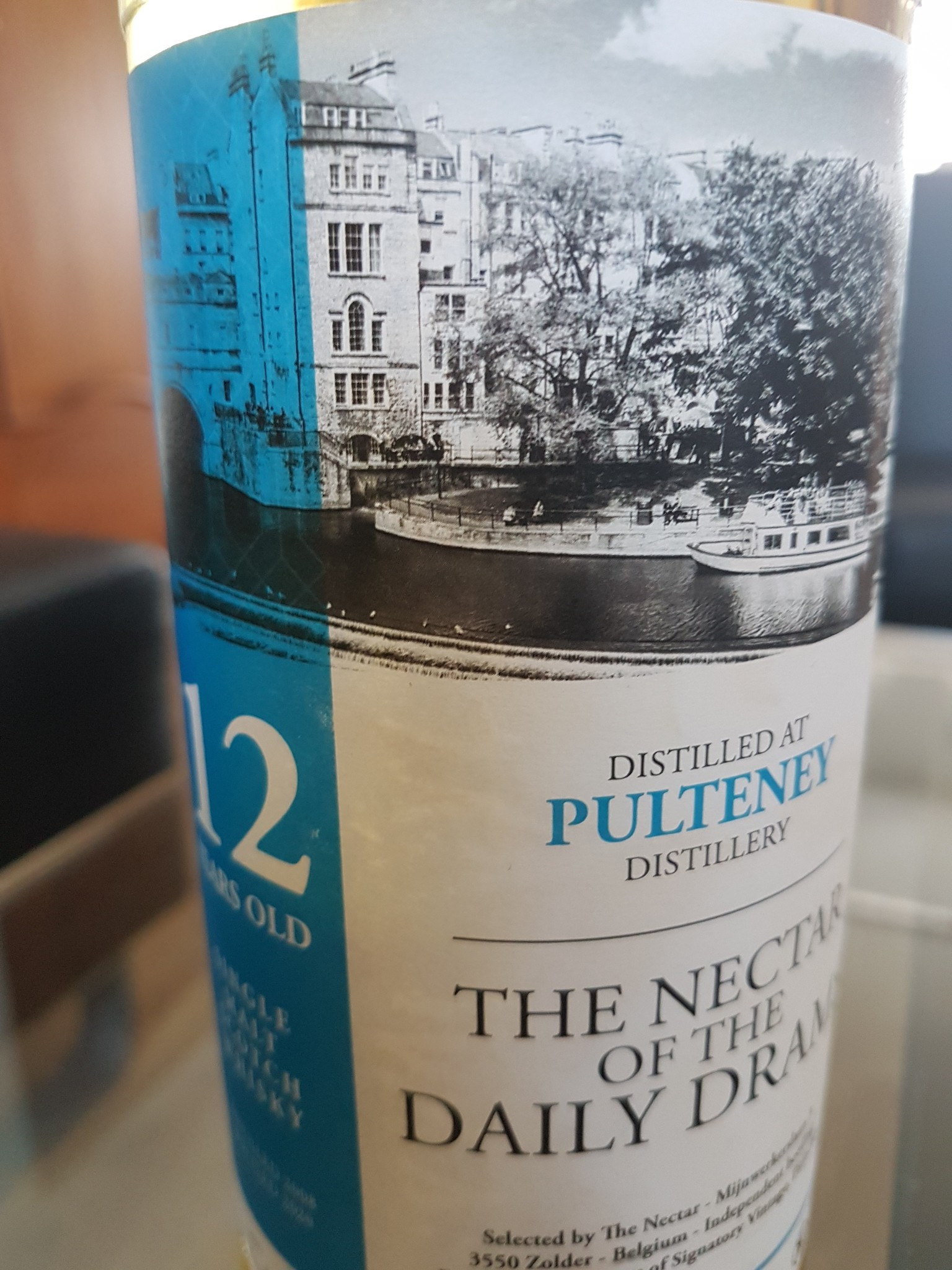 The Nectar OF The Daily Dram OLD PULTENY 12Y 2008-2020  57.5%  The nectar of the daily dram