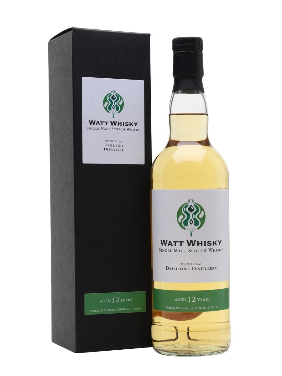 Watt whisky Dailuaine 2008-2020 12Y 57.8 % Watt Whisky