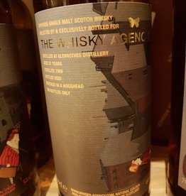 The Whisky Agency GLENROTHES 31Y  1989-2020 44.4 %  TWA