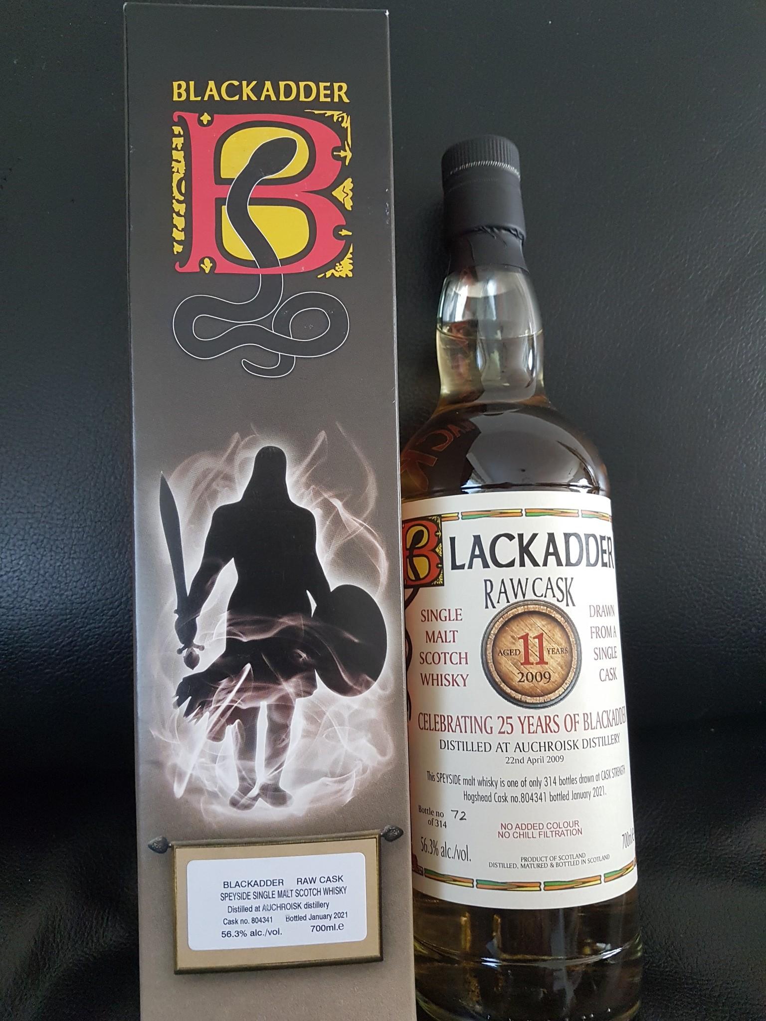 Black Adder Auchroisk 11Y 2009-2021 56.3% Blackadder