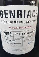 Original Distillery Bottling Benriach 15Y 2005-2020 cask edition oloroso sherry butt 59.8%