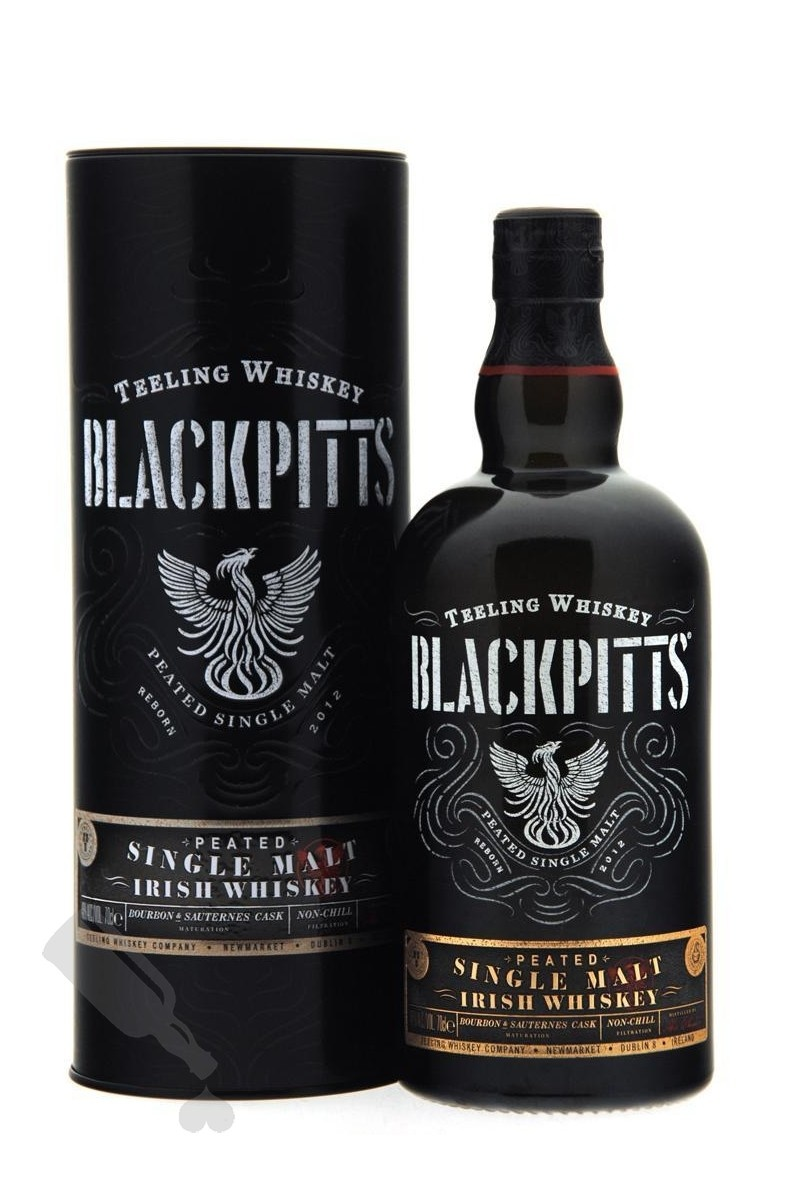 Original Distillery Bottling Teeling Blackpitts  peated single malt 46%