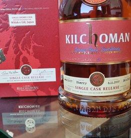 Original Distillery Bottling Kilchoman 2007-2012  single sherry cask for Whisk-e Ltd japan  58.3%