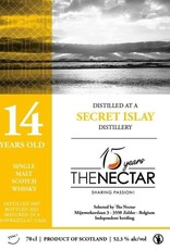 The Nectar OF The Daily Dram Secret Islay 14Y  2007-2021 52.7% Montbazillac cask