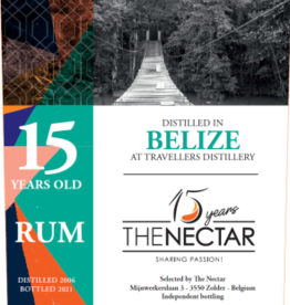 The Nectar OF The Daily Dram Belize rum 15Y 2006-2021 52%