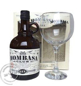 Mombasa Club Gin 41.5% + Glass