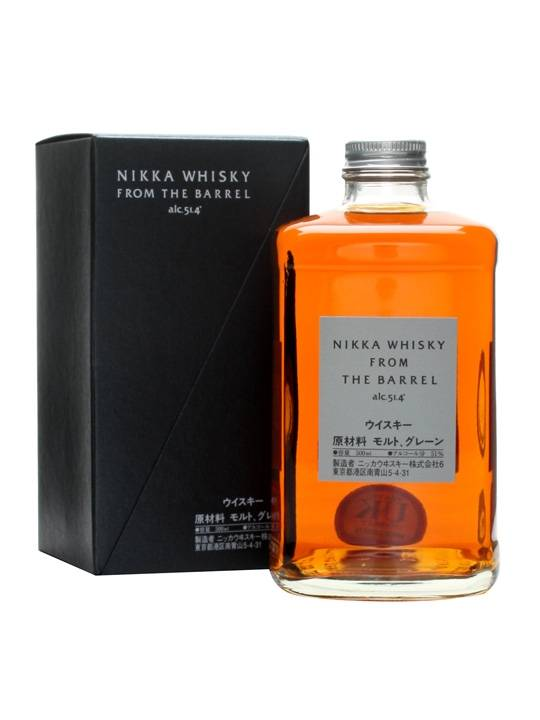 Original Distillery Bottling Nikka from the barrel 51.4%