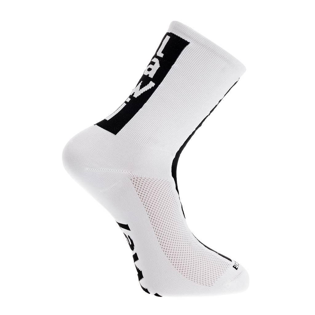 Socks long cabrera white/black