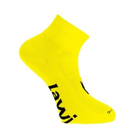 Cycling socks short Zorbig Yellow