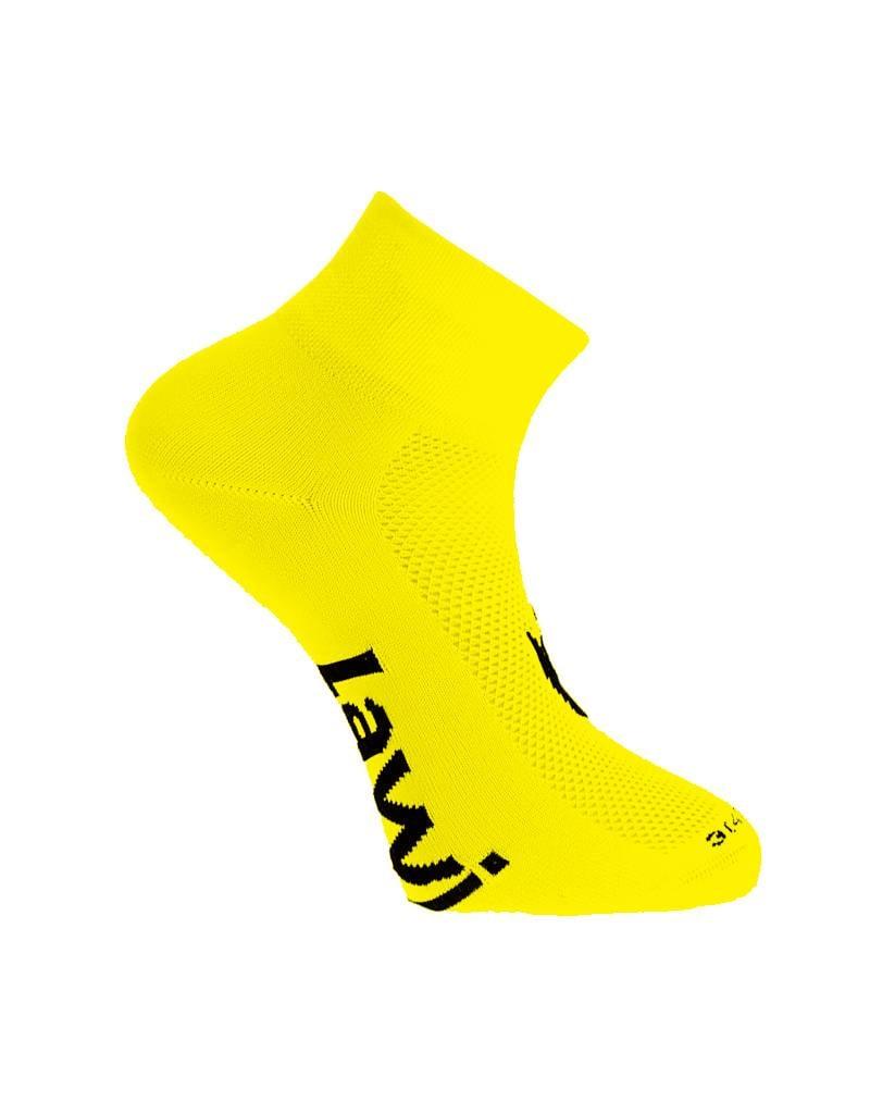 Cycling socks short Zorbig Yellow
