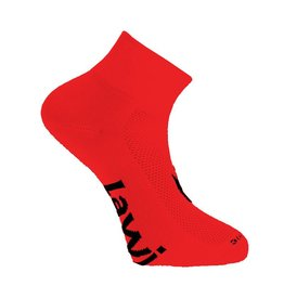 Cycling socks short Zorbig red