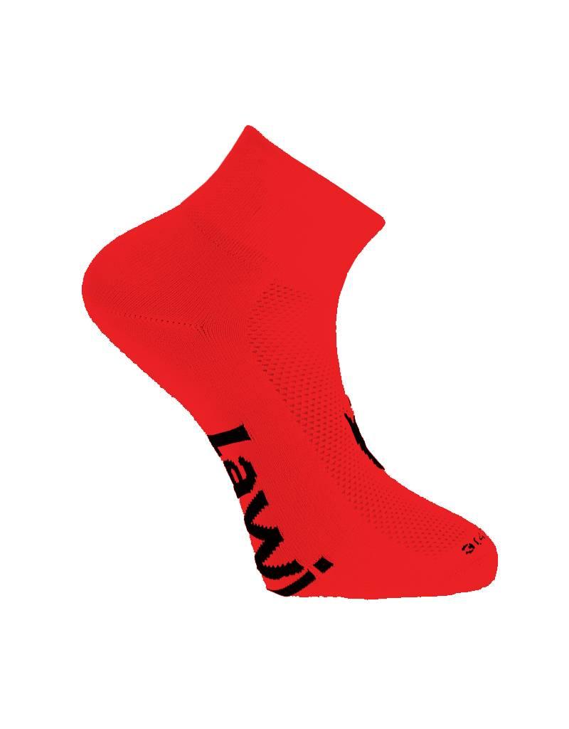 Cycling socks short Zorbig red