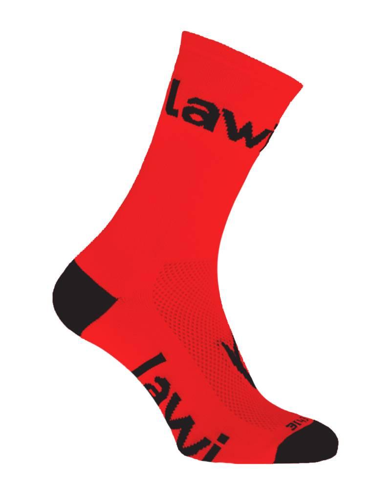 Bike socks long Zorbig Red