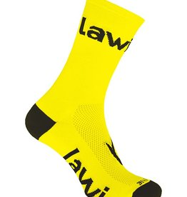 Bike socks long Zorbig Yellow