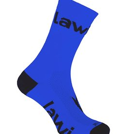 Bike socks long Zorbig Blue