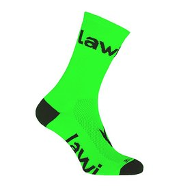 Bike socks long Zorbig fluor green
