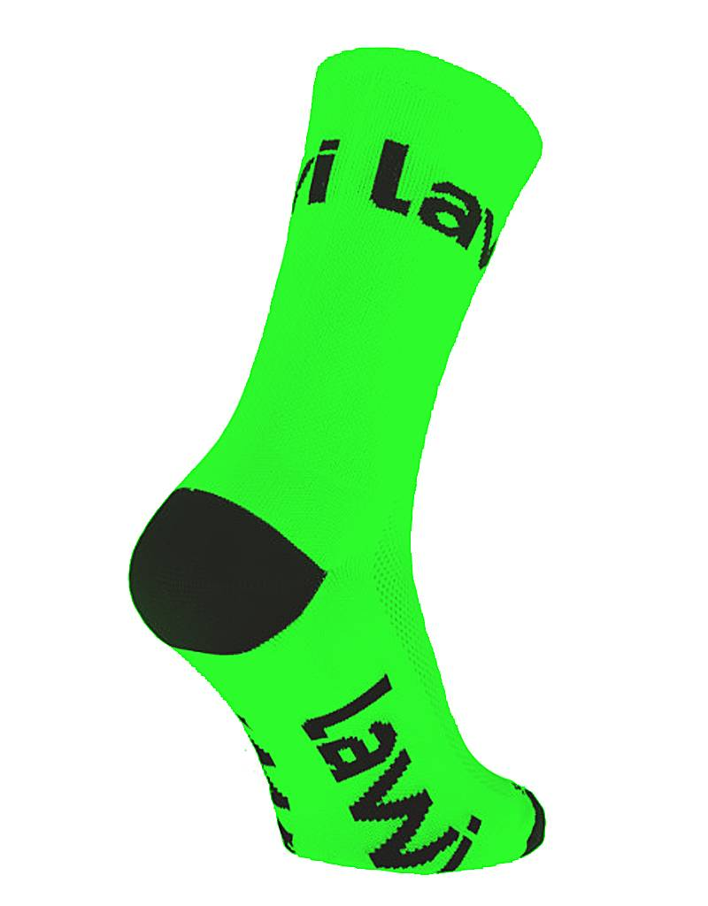 Bike socks long Zorbig fluor green