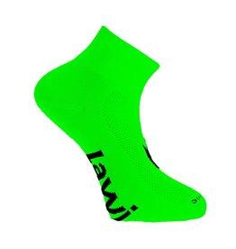Fietssokken kort Zorbig fluor Groen