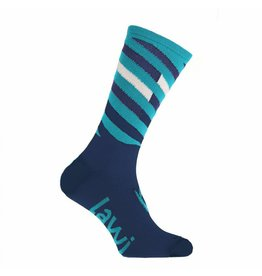 Bike socks Long Relay blue