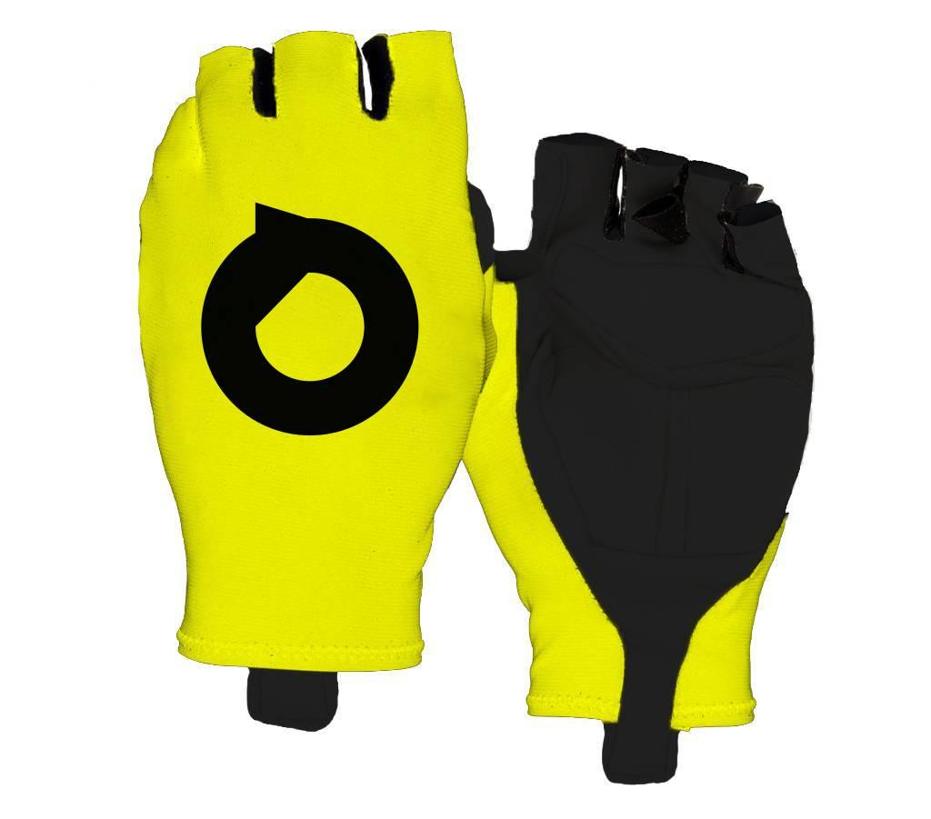 Cycling gloves aero fluor Yellow