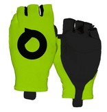 Cycling gloves aero fluor Green