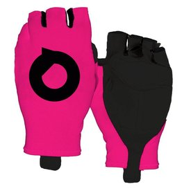 Cycling gloves aero fluor Pink