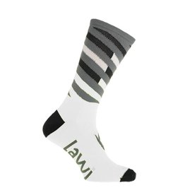 Cycling socks long Relay white
