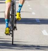 Cycling socks long Relay white