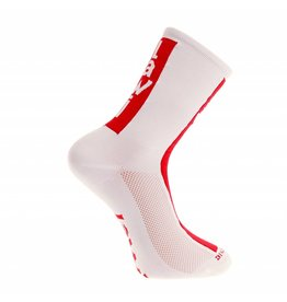 Socks long cabrera white/red