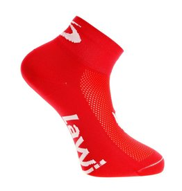Bike socks short the luxury red / white
