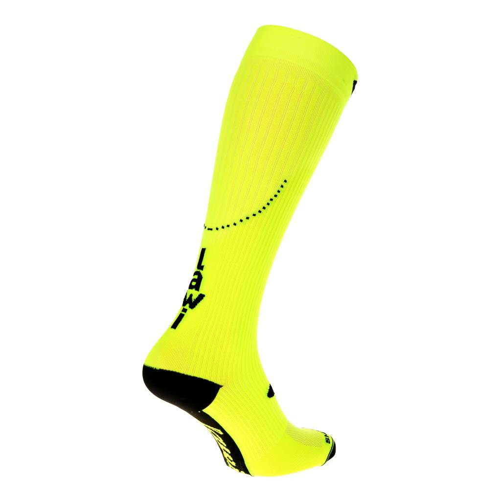Compression Stockings fluor Yellow