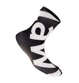 Overshoes lycra black-white