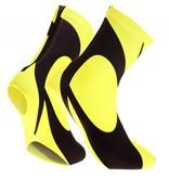 overshoes lycra black-fluor Yellow