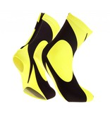 overshoes lycra black-fluor Yellow