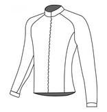 10205 Cycling jacket long sleeve Nowind