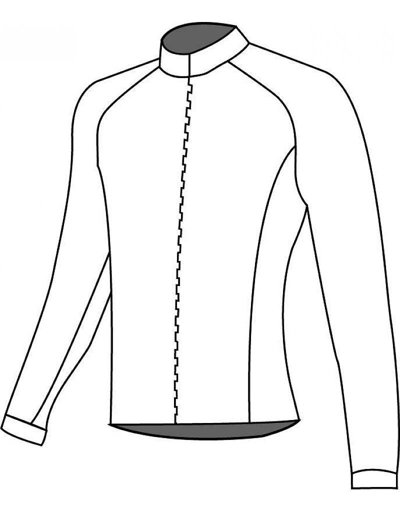 13005 Kids Skating jacket long sleeve Cubewinter (Lined)