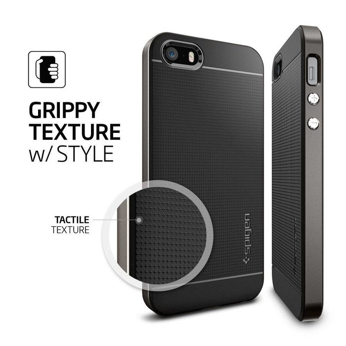 iPhone SE/5S/5 Case Neo Hybrid - Gunmetal