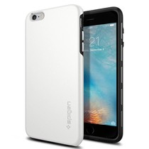 Spigen iPhone 6/6S Case Thin Fit Hybrid - White