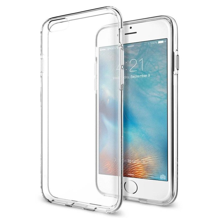 iPhone 6/6S Slim & Soft Case - Liquid Crystal