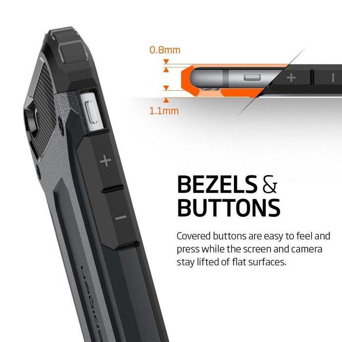 iPhone 6/6S Case Tough Armor Tech - Metal Slate