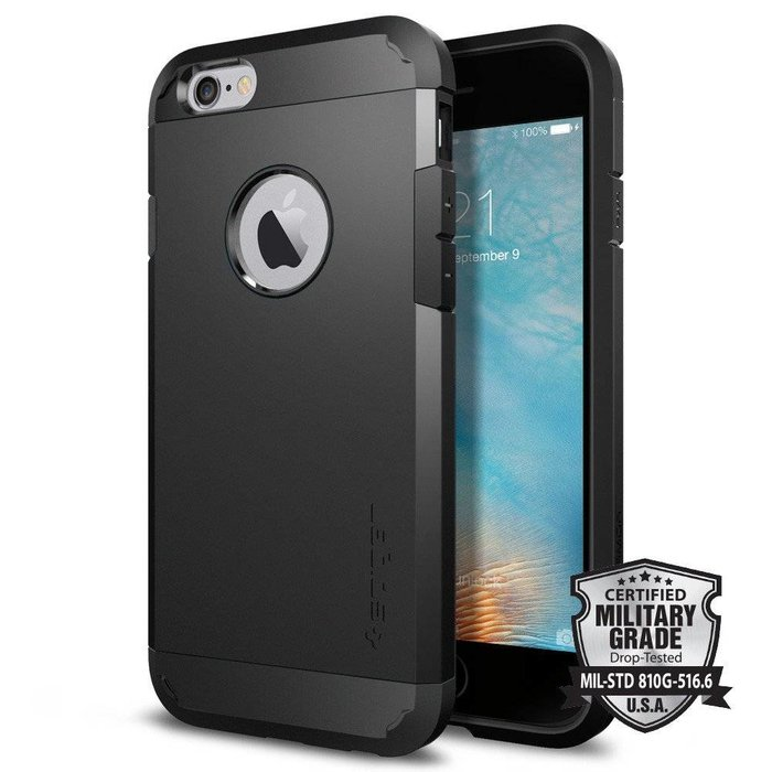 iPhone 6/6S Case Tough Armor - Black